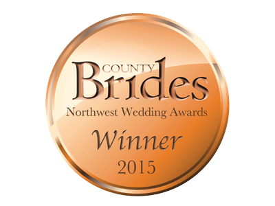 County Brides Best Wedding Venue Lancashire 2015 Award